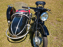 1939 Nimbus with Sidecar FOR SALE