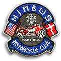 Nimbus Motorcycle Club of America Embroidered Patch